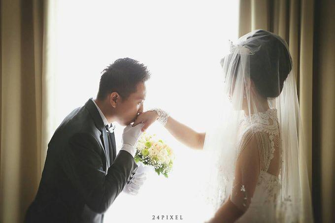 Wedding of Edwin & Veronica by Gester Bridal & Salon Smart Hair - 019