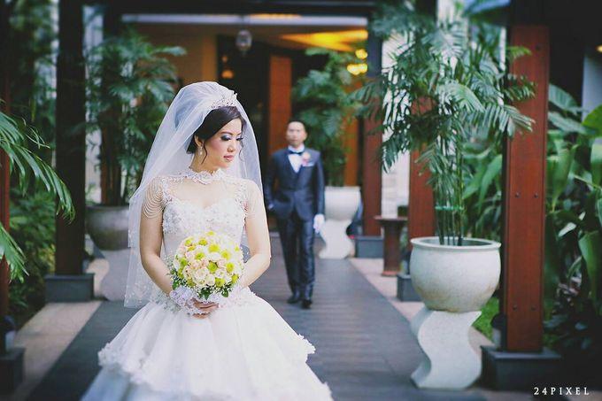 Wedding of Edwin & Veronica by Gester Bridal & Salon Smart Hair - 024