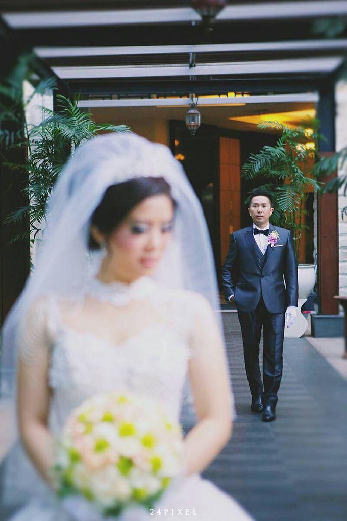 Wedding of Edwin & Veronica by Gester Bridal & Salon Smart Hair - 025
