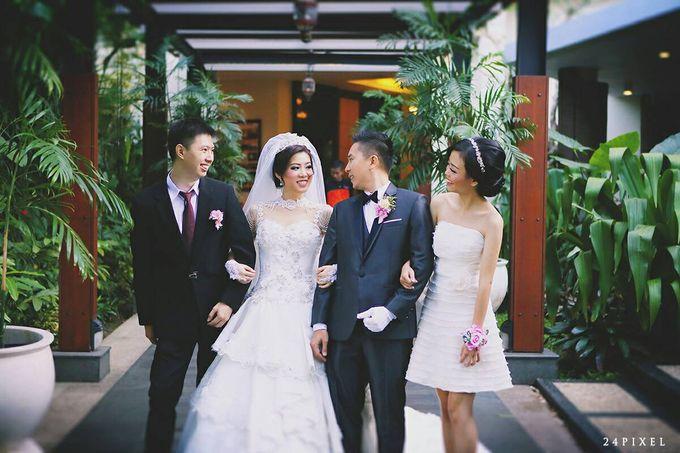 Wedding of Edwin & Veronica by Gester Bridal & Salon Smart Hair - 026