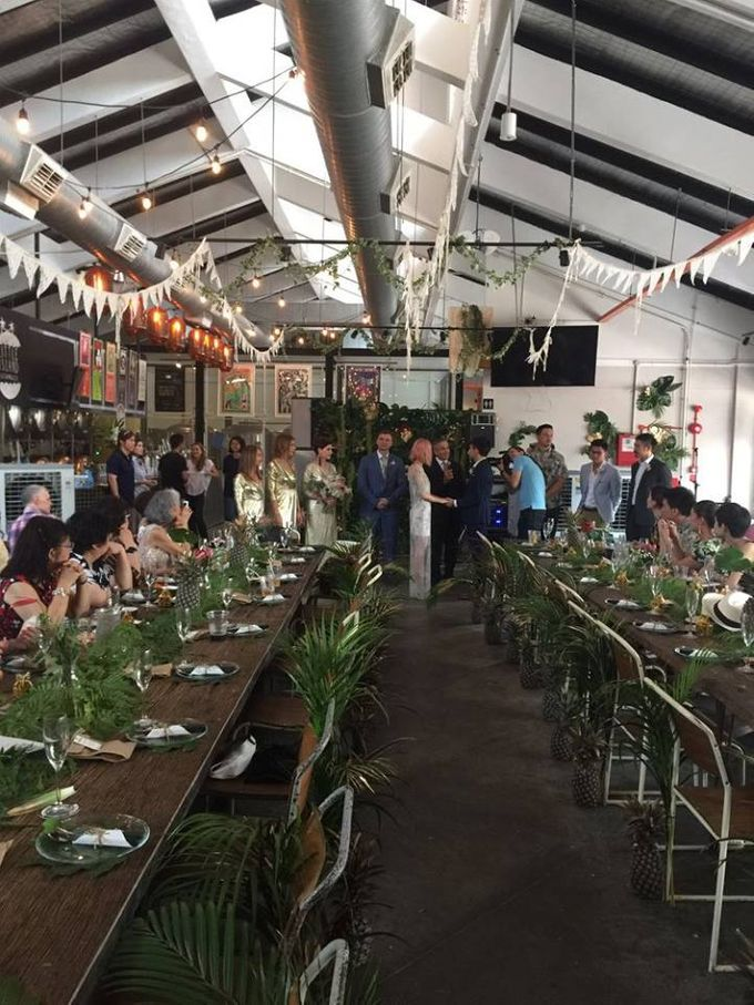 Botanical Wedding Theme by LITTLE ISLAND BREWING CO. - 007