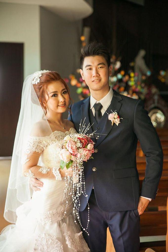 The wedding ceremony of Pingkan & Ferdhian by KYRIA WEDDING - 005