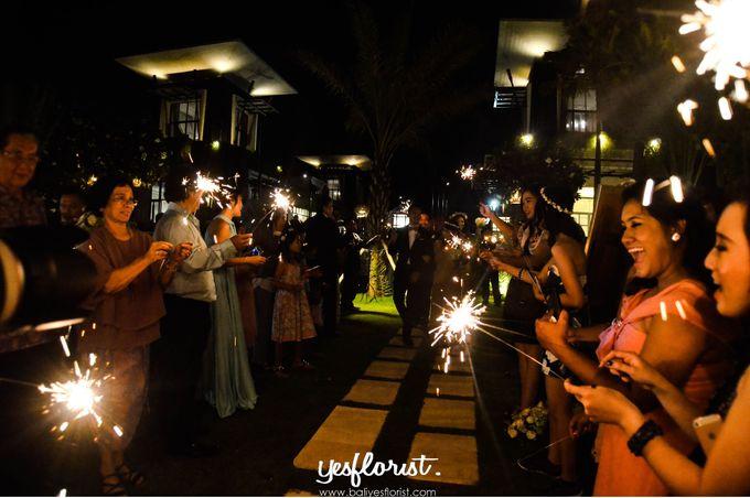 Wedding of Michael & Stella by Bali Yes Florist - 003