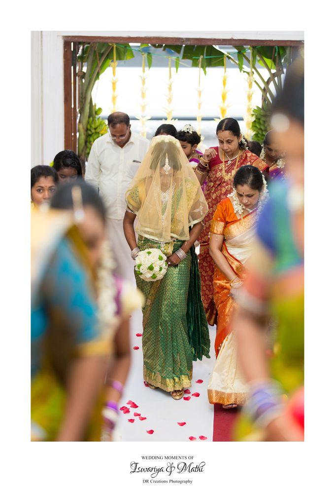 Wedding of Ishwariya & Mathi by DR Creations - 014