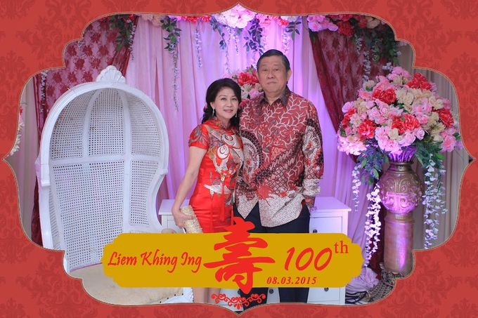 One Hundred Birthday of Liem Khing Ing by After 5 Photobooth - 006