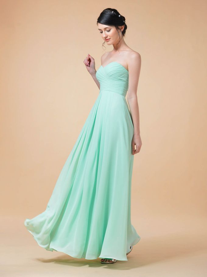 Bridesmaids Dresses by AWEI Bridal - 002