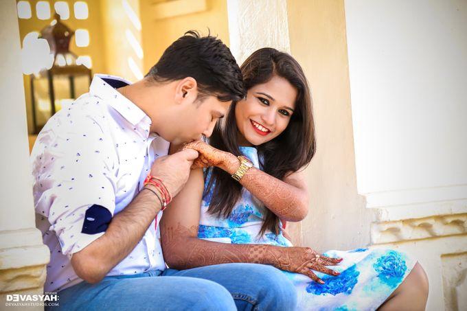 Jinal And Dharmesh by Devasyah: Studios - 008