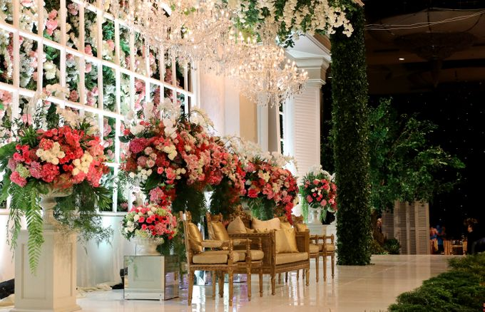 The wedding of Aby and Arsila by Amarillis Floral and Party Decorator - 001