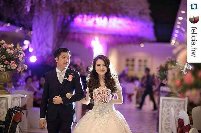wedding of william tanuwijaya  u0026 felicia by the dayz