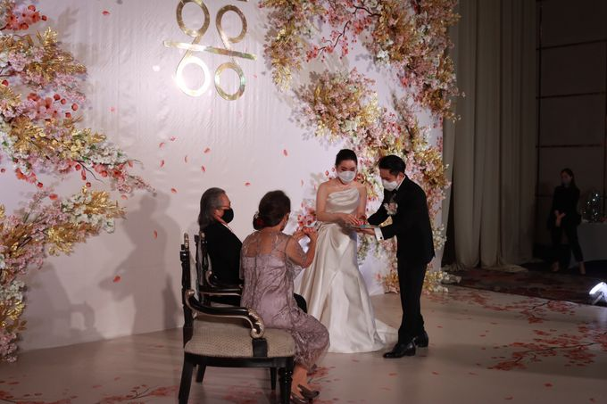 MC Teapai and New Normal Intimate Wedding Fairmont Hotel Jakarta - Anthony Stevven by Anthony Stevven - 011