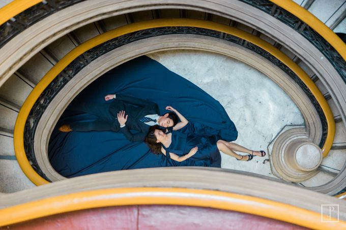 College Sweethearts  School Themed Engagement session with an Elegant twist by Bride Idea - 020