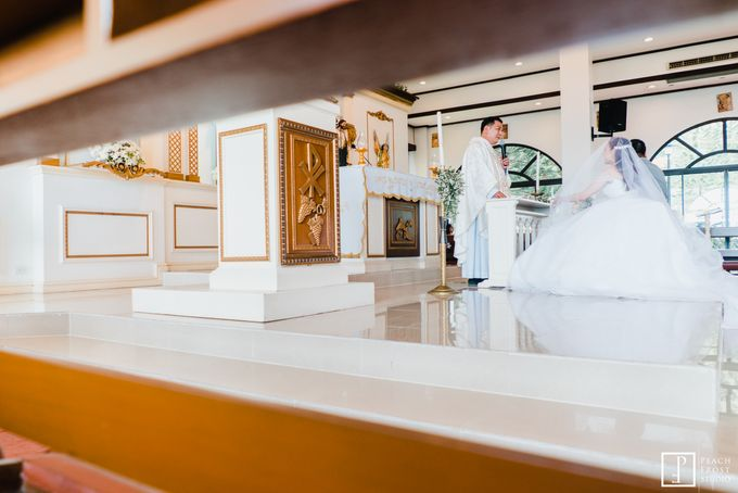 A Peach Themed Tagaytay Woodlands Wedding of Tina & Niel by Peach Frost Studio - 024