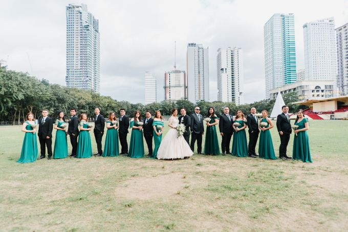 An Emerald  Green themed wedding of Phillip and Grace by Peach Frost Studio - 034