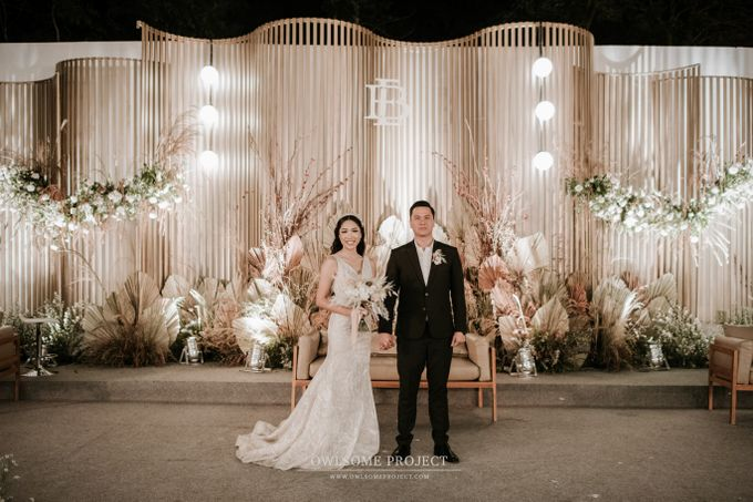 The Wedding of Budiman and Eunike by Elior Design - 003