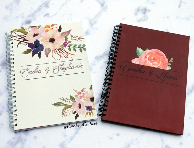 Wedding Planner Book by Rainbow Couture - 001
