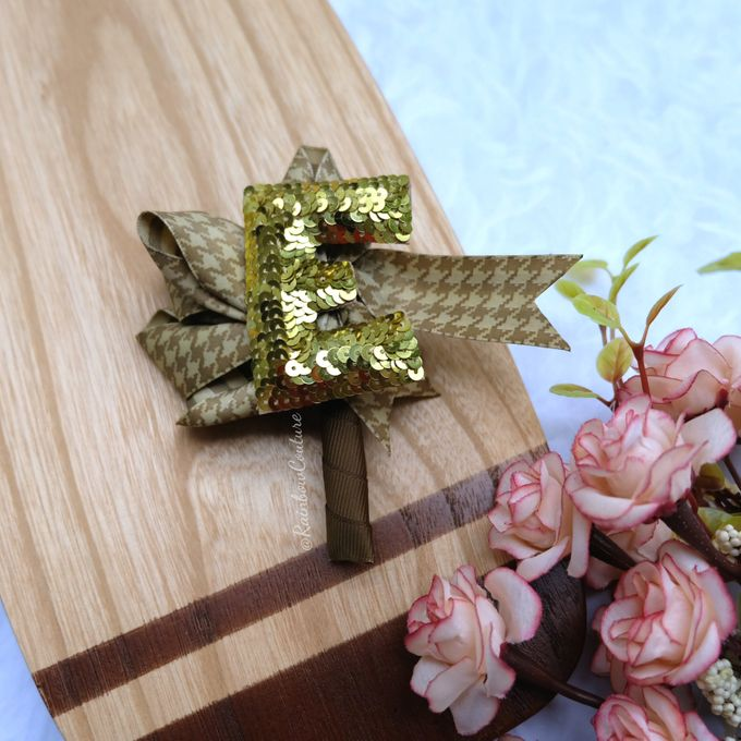 Boutonniere et ami by Rainbow Couture - 001