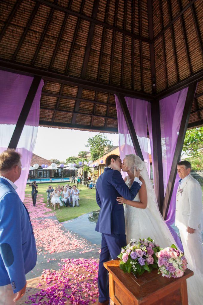 Purple wedding by Bali Angels - 015