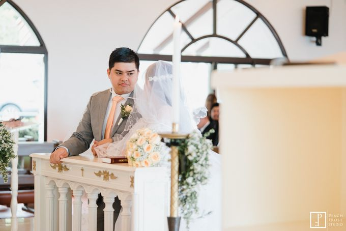 Tina & Niel's Peach Themed Intimtate Wedding in Tagaytay Highlands by Peach Frost Studio - 027