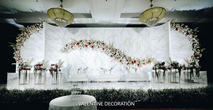 Glenn & Jesslyn Wedding Decoration by Valentine Wedding Decoration - 015