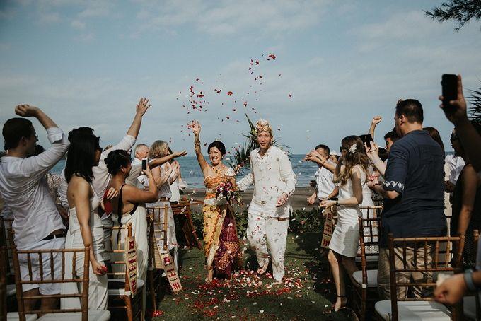 Nagisa Bali Wedding for Sacha & Ana by Nagisa Bali - 015