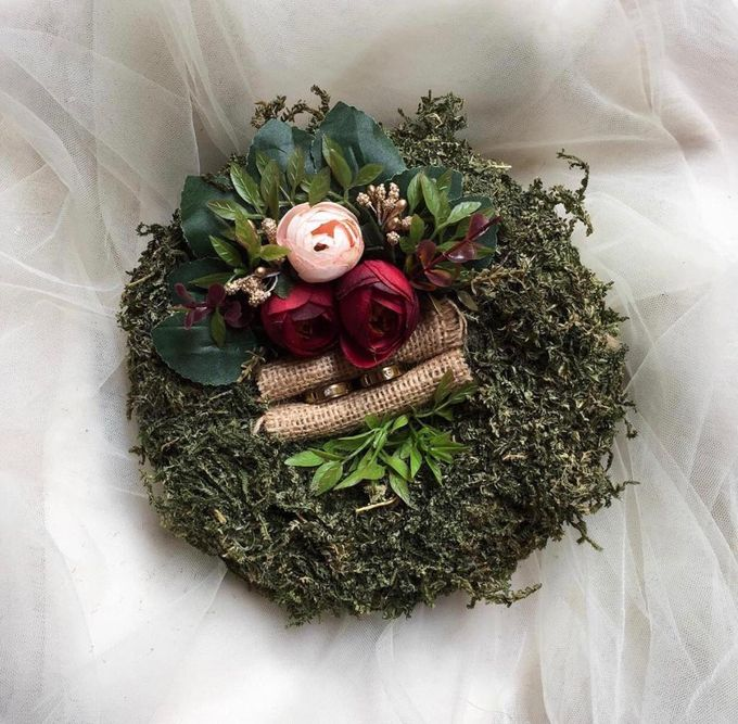 Ring Box by Rose For You - 015