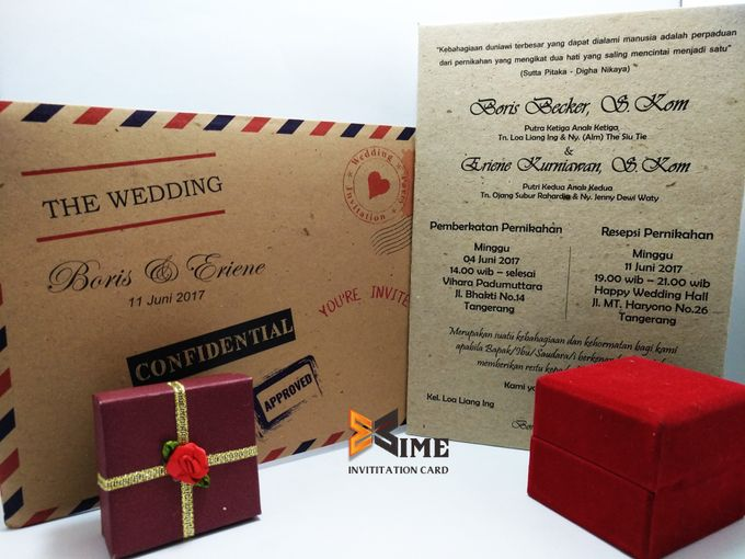 Maret April By Xime Wedding Card Bridestory Com