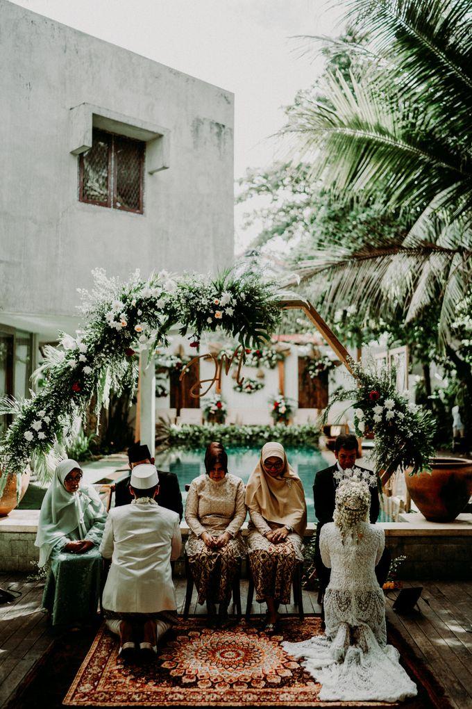 Dheafina & Nur Wedding at Azila Villa by AKSA Creative - 015