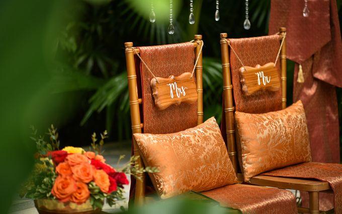 Minangkabau Traditional wedding set up at The Glass House by Tirtha Bridal - 015