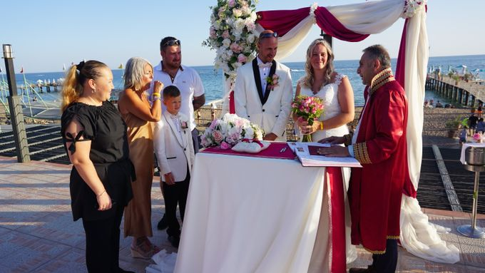 Wedding by the sea in Antalya -Lucy & Daniel- by Wedding City Antalya - 014