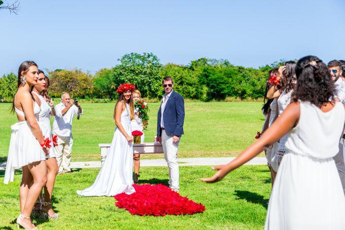 Catherine & Leonardo Destination Wedding in Private Villa by Jennifer C  Wedding & Event Agency - 002