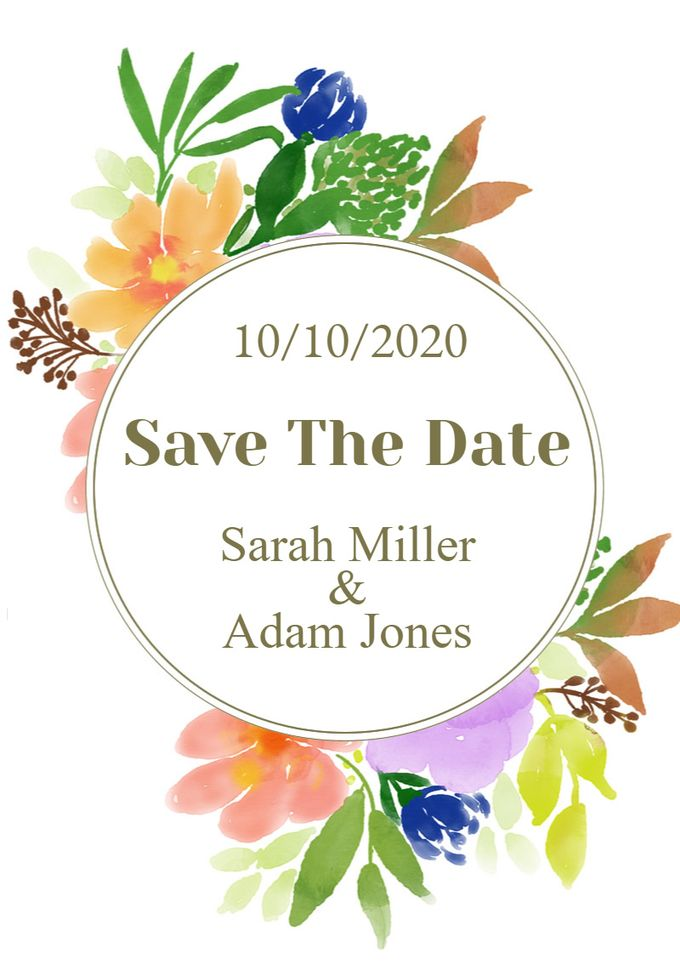 save the date by Save The Date - 007