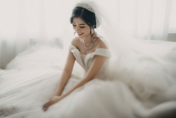 Andre & Elvira Wedding by Dhika by MA Fotografia - 015