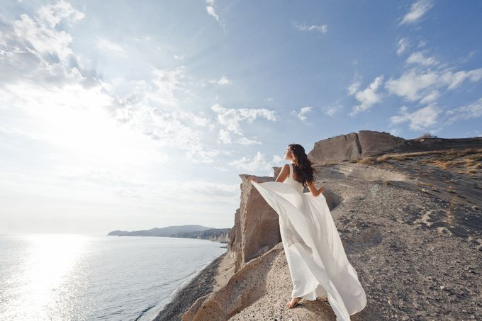 Marry Me On Santorini by BMWedding - 002
