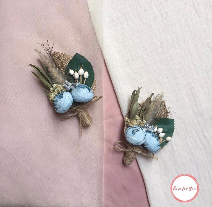 Boutonniere & Corsage by Rose For You - 015