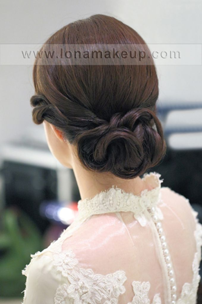 Bridal Hair by Lona Makeup - 013