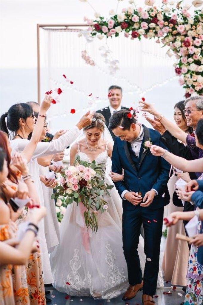 The Wedding of Donald & Larissa by BDD Weddings Indonesia - 015