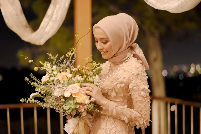 Mega & Aul Engagement by Garland Galore Flower Shop - 006