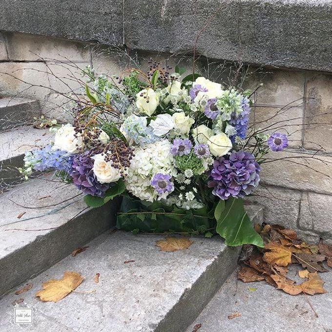 Solemnization / Reception Table / Wedding Venue Decoration by Petite Fleur SG - 003