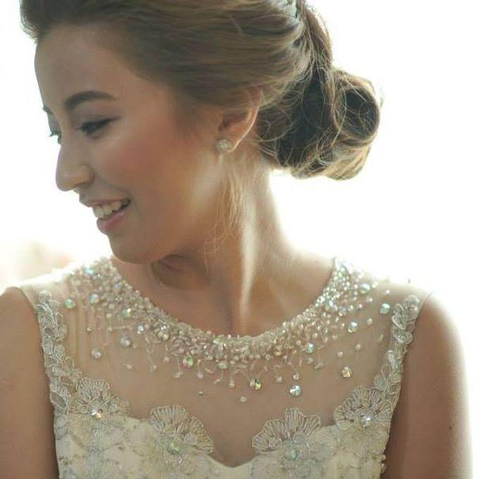 Weindrich & Christel Wedding by Melody Tinoy Makeup Artist - 001