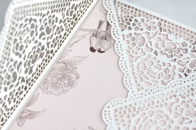 Peonies & Lovely Lace Envelope by Pullman Jakarta Indonesia - 003