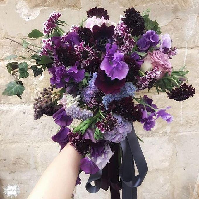 Bridal Hand Bouquet by Petite Fleur SG - 010