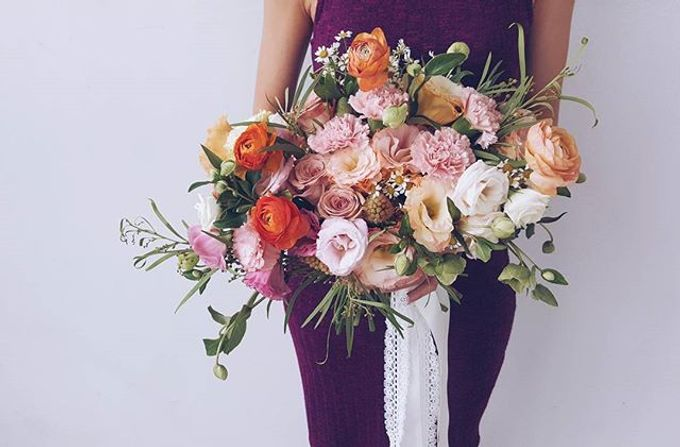Garden Inspired Bouquets III by Keira Floral - 029