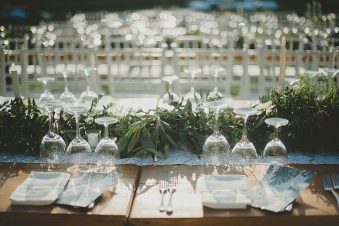 Backyard Jewish Wedding by Flora Botanica Designs - 013