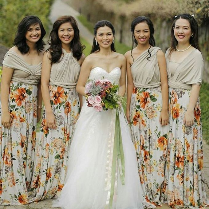 Customized Bridesmaids Dresses by White Label Bridal - 017