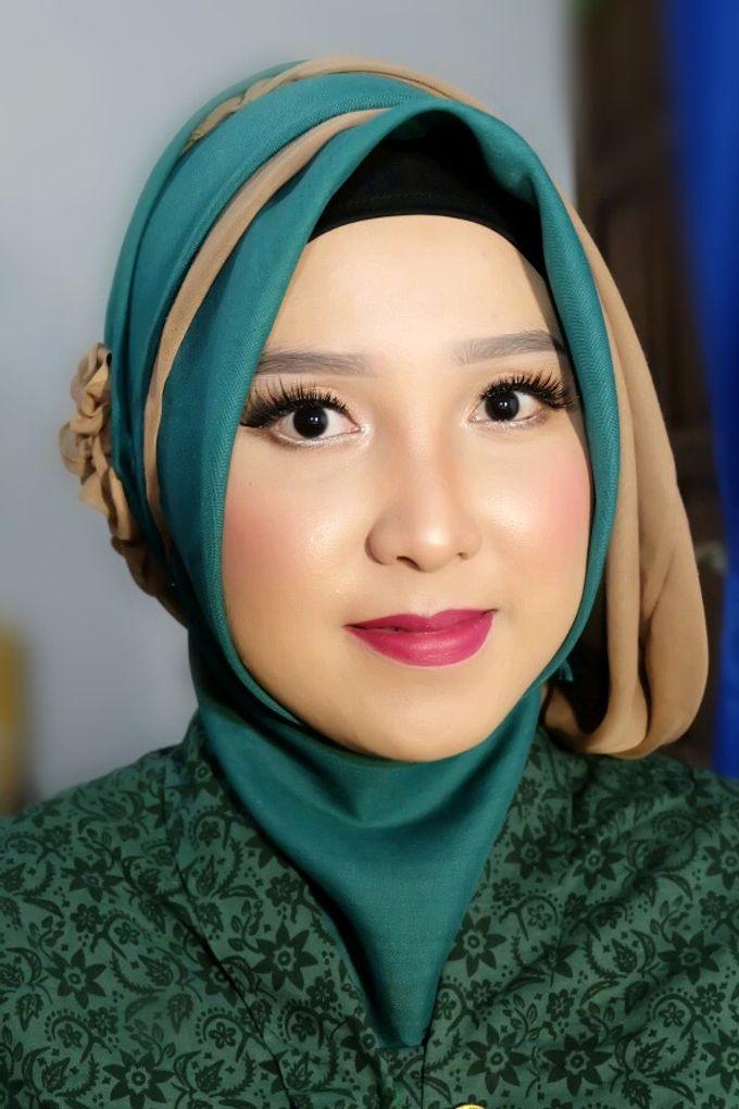 Makeup Bridesmaid by VidJei Makeup - 014