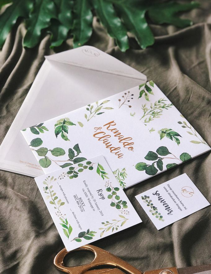 Minimalist Green for Renaldo & Claudia by Jolly's Little Dreams - 003