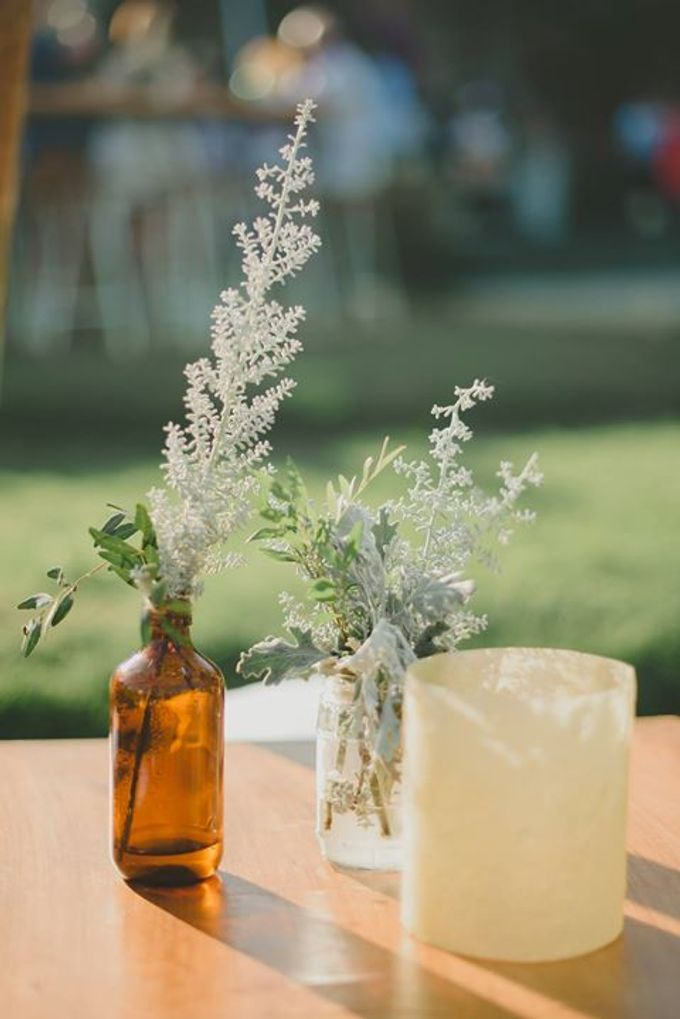 Backyard Jewish Wedding by Flora Botanica Designs - 011