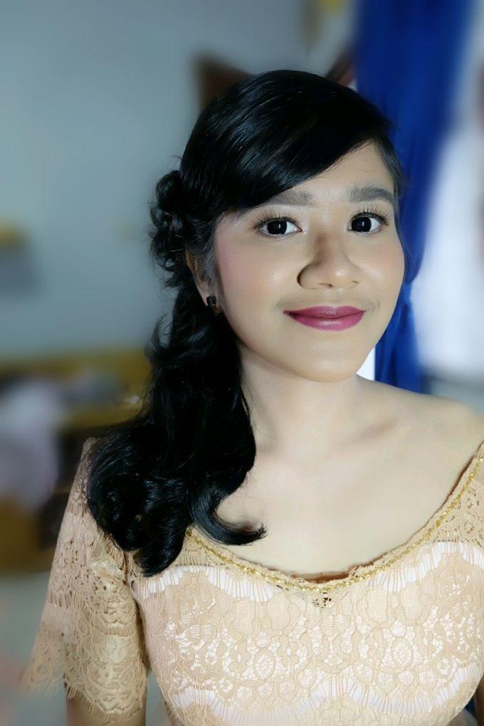 Makeup Bridesmaid by VidJei Makeup - 019
