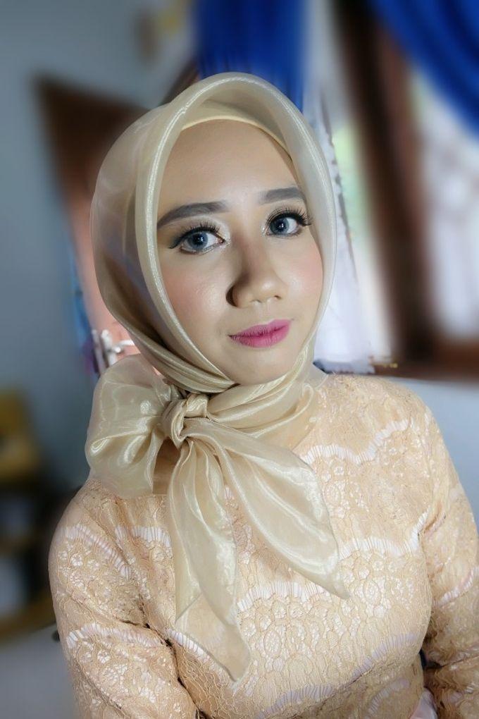 Makeup Bridesmaid by VidJei Makeup - 022
