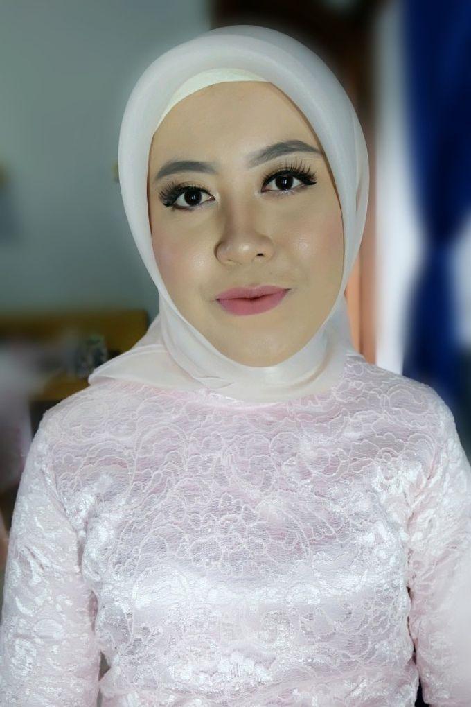 Makeup Bridesmaid by VidJei Makeup - 024